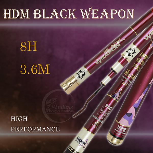 Cần HDM BLACK WEAPON 8H